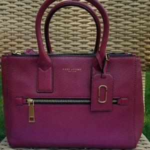 Marc Jacobs rich burgundy tote/shoulder bag⭐️🎉❤️